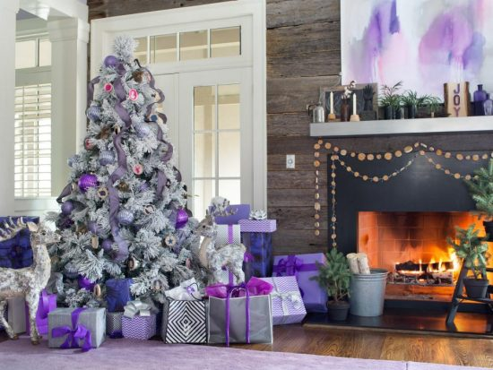 Gorgeous Christmas decorations with a modern flair for this year modern home