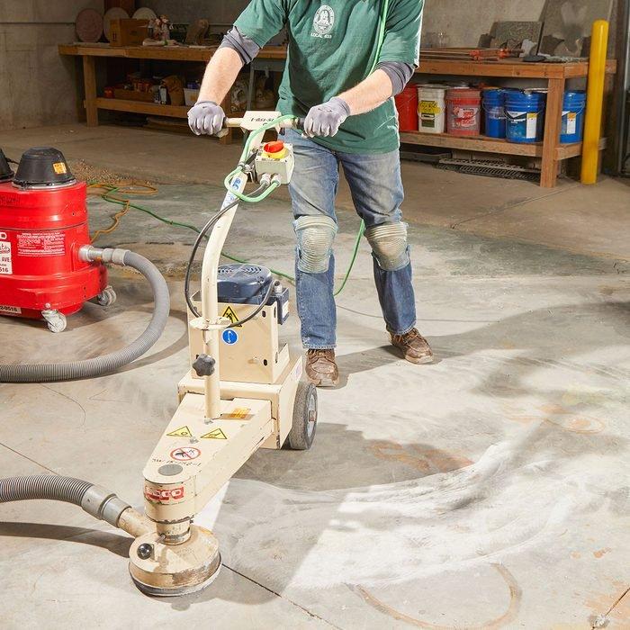 electric Concrete Leveling Method
