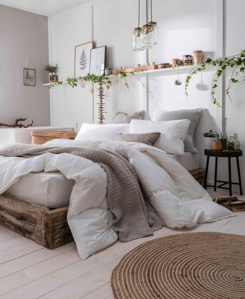 nature in Bedroom Interior Design